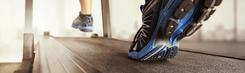 Laufband als Symbol für Ausdauertraining